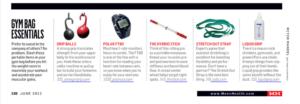 Liquid Grip on Men's Health Magazine